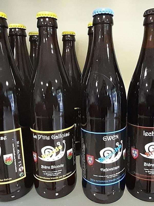 Bieres de La Brasserie du Luma (Hanna et Anthony )