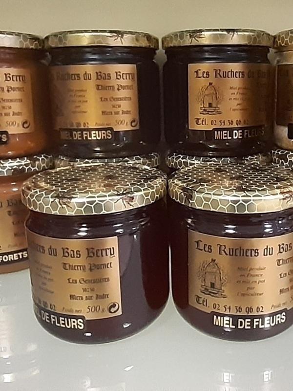 Miel de Mers sur Indre , Maison Pornet (pot 500g)